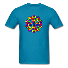 Load image into Gallery viewer, Kaleidoscope Pride  T-Shirt - turquoise