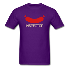 Load image into Gallery viewer, Wiener Inspector Men's T-Shirt - purple