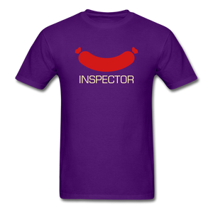 Wiener Inspector Men's T-Shirt - purple
