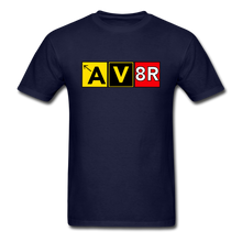 Load image into Gallery viewer, Aviator AvGeek T-Shirt - navy