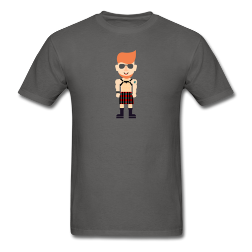 Kilt Daddy T-Shirt - charcoal