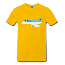 Load image into Gallery viewer, Flying Pig T-Shirt - sun yellow