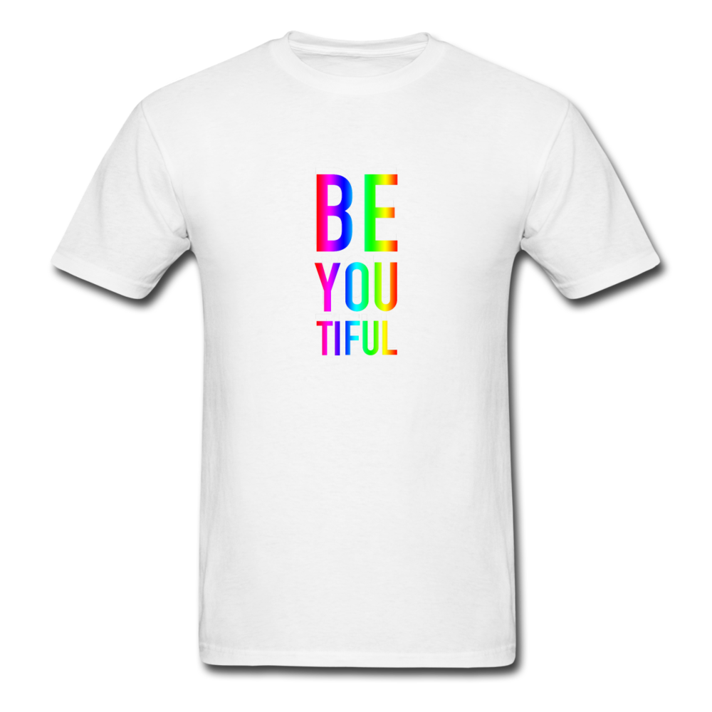 BE YOU TIFUL (Pride Colors) T-Shirt - BravoPapa Clothing