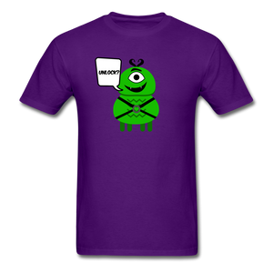 Flirty Alien T-Shirt - purple