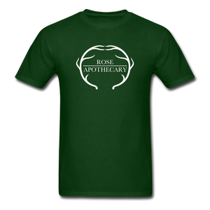 Rose Apothecary (Schitt's Creek) Men's T-Shirt - forest green