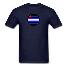 Load image into Gallery viewer, Leather Pride T-Shirt - navy