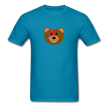Load image into Gallery viewer, Bowie Bear T-Shirt - turquoise