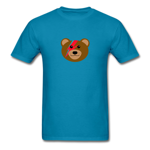 Bowie Bear T-Shirt - turquoise
