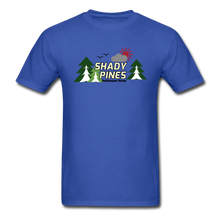 Load image into Gallery viewer, Shady Pines Golden Girls T-Shirt - royal blue