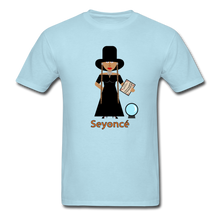 Load image into Gallery viewer, Seyoncé (Beyonce Inspired Halloween) T-Shirt - powder blue
