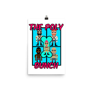 The Poly Bunch Enhanced Matte Paper Poster (in)
