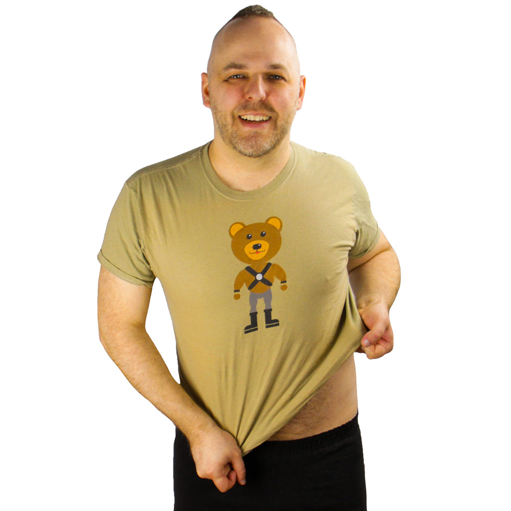 Muscle Bear Gay T-Shirt - BravoPapa Clothing