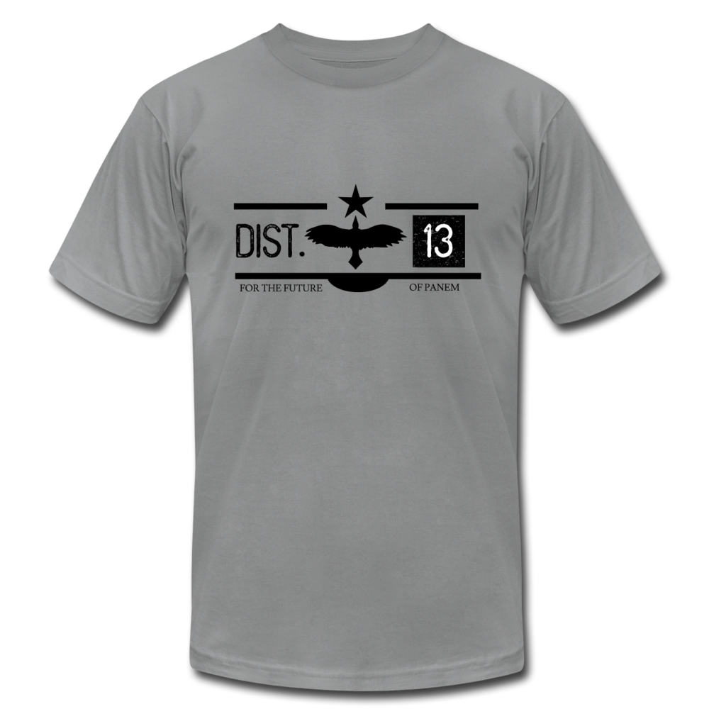 District 13 Hunger Games Inspired T-Shirt - slate