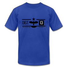 Load image into Gallery viewer, District 13 Hunger Games Inspired T-Shirt - royal blue