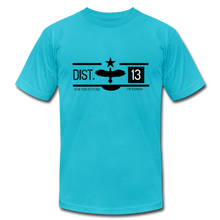 Load image into Gallery viewer, District 13 Hunger Games Inspired T-Shirt - turquoise