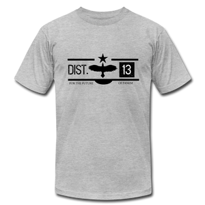District 13 Hunger Games Inspired T-Shirt - heather gray