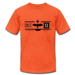 District 13 Hunger Games Inspired T-Shirt - orange
