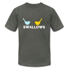 Load image into Gallery viewer, Swallows Bird T-Shirt - asphalt