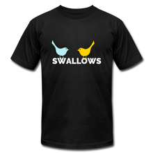 Load image into Gallery viewer, Swallows Bird T-Shirt - black