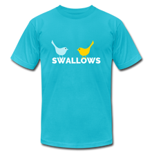 Load image into Gallery viewer, Swallows Bird T-Shirt - turquoise