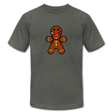 "Load image into Gallery viewer, Ginger ""Bred"" Man Holiday T-Shirt - asphalt"