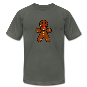 "Ginger ""Bred"" Man Holiday T-Shirt - asphalt"