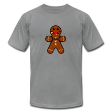 "Load image into Gallery viewer, Ginger ""Bred"" Man Holiday T-Shirt - slate"