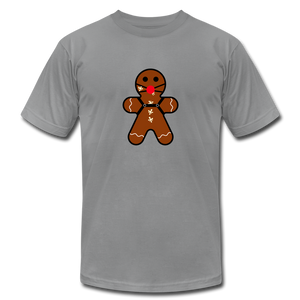 "Ginger ""Bred"" Man Holiday T-Shirt - slate"