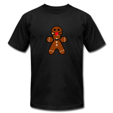 "Load image into Gallery viewer, Ginger ""Bred"" Man Holiday T-Shirt - black"