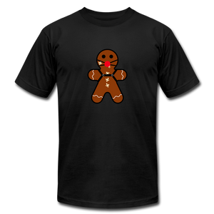 "Ginger ""Bred"" Man Holiday T-Shirt - black"