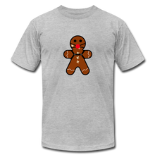 "Load image into Gallery viewer, Ginger ""Bred"" Man Holiday T-Shirt - heather gray"
