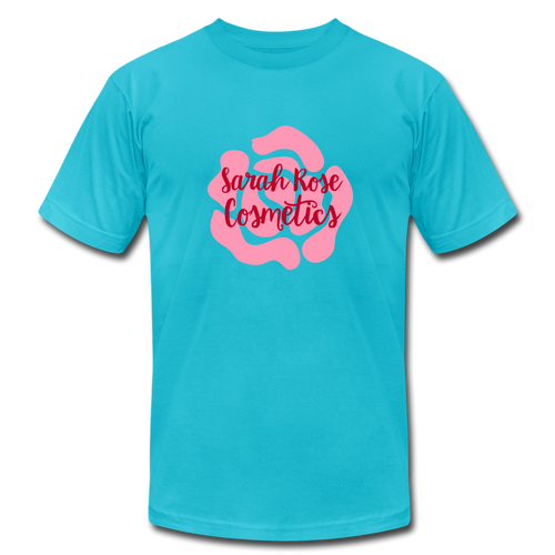 Sarah Rose Cosmetics (Drop Dead Gorgeous Inspired) Graphic Tee - turquoise