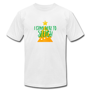 Here to Sleigh V2 Christmas T-Shirt - white