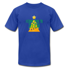 Load image into Gallery viewer, Here to Sleigh V2 Christmas T-Shirt - royal blue