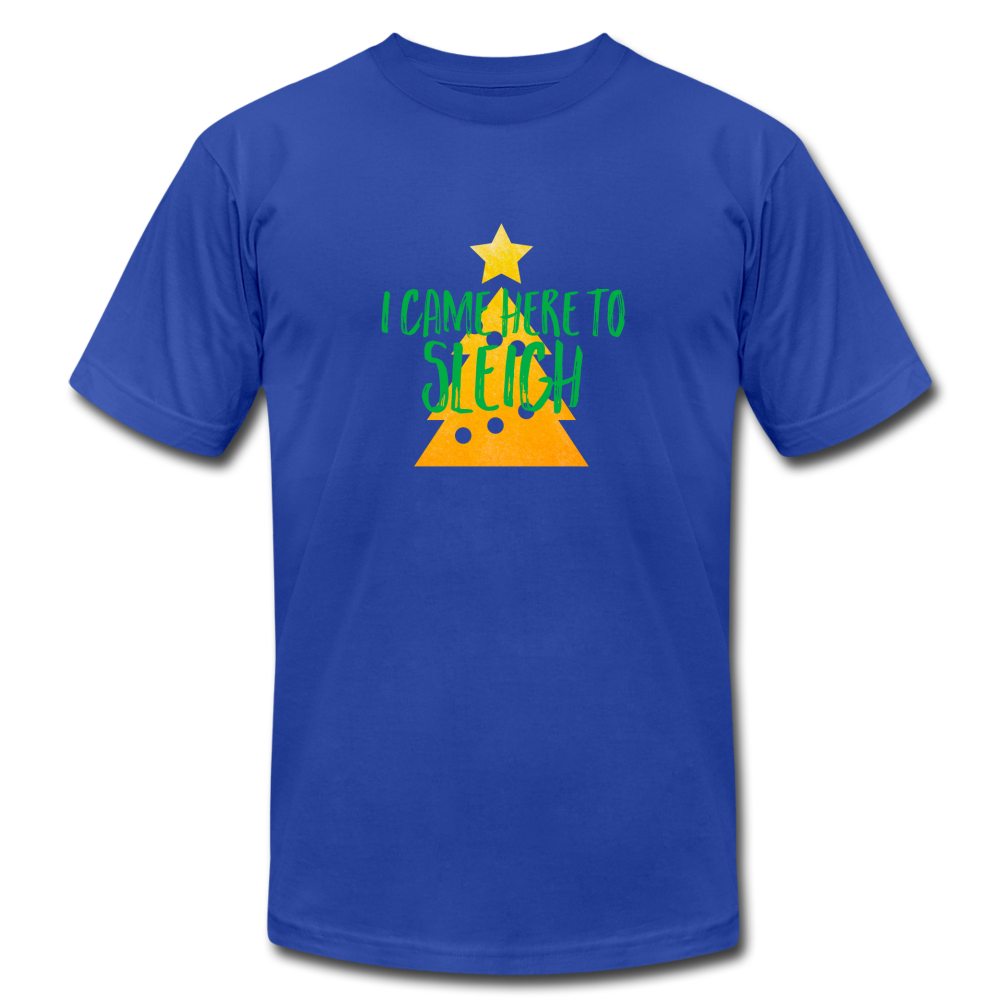Here to Sleigh Christmas T-Shirt - BravoPapa Clothing