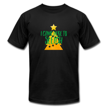 Load image into Gallery viewer, Here to Sleigh V2 Christmas T-Shirt - black