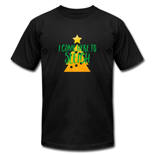 Here to Sleigh V2 Christmas T-Shirt - black