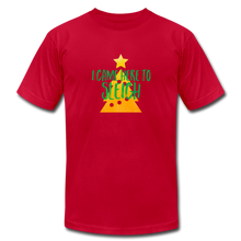 Load image into Gallery viewer, Here to Sleigh V2 Christmas T-Shirt - red