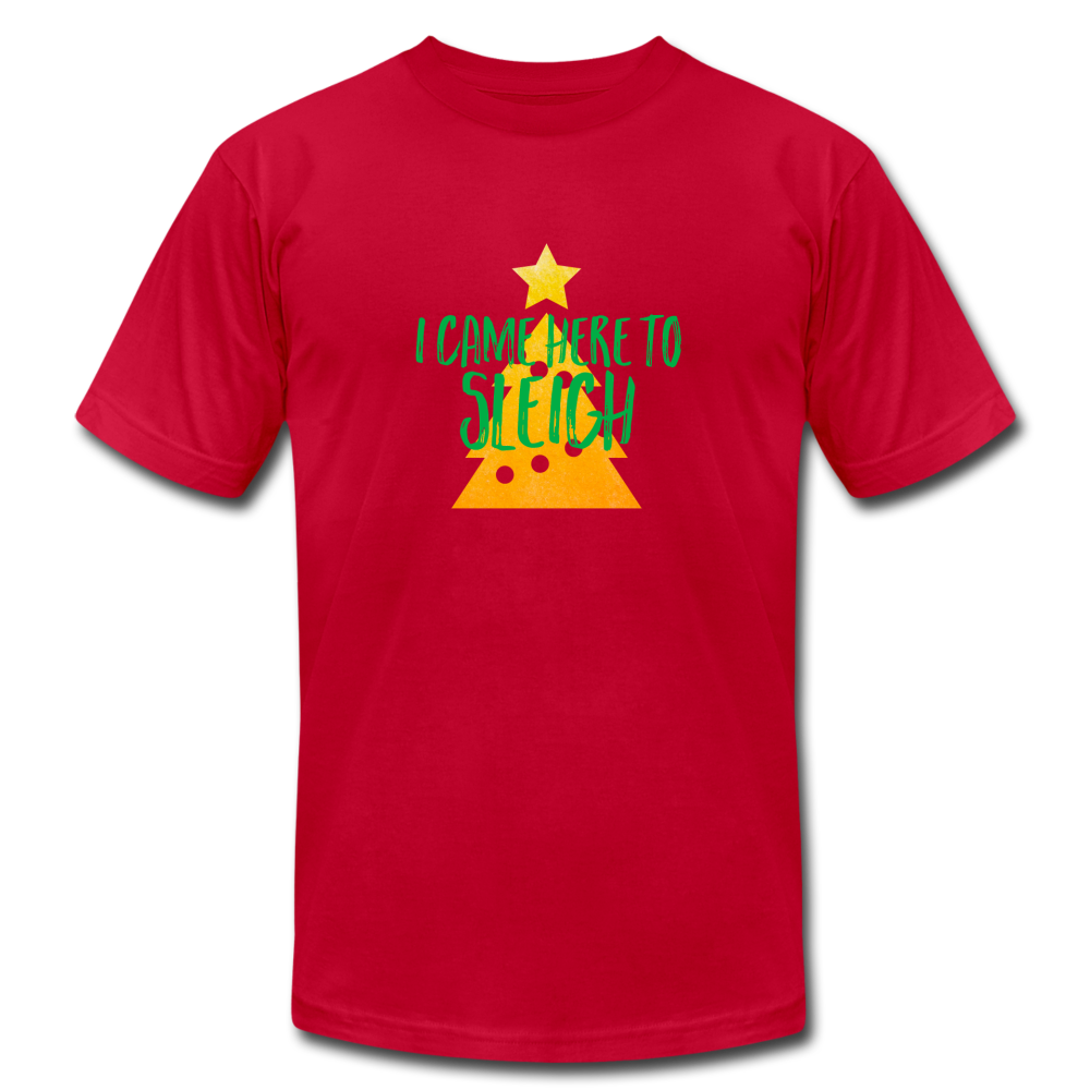 Here to Sleigh V2 Christmas T-Shirt - BravoPapa Clothing