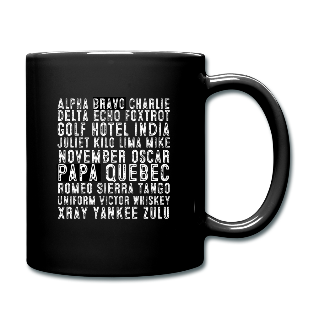 BravoPapa Phonetic Alphabet Mug - BravoPapa Clothing