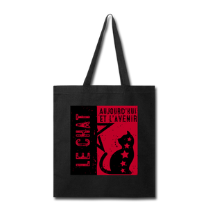 Cat Propaganda Tote Bag - BravoPapa Clothing