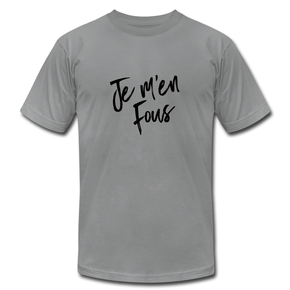 Je m'en Fous (i don't care) French T-shirt - BravoPapa Clothing