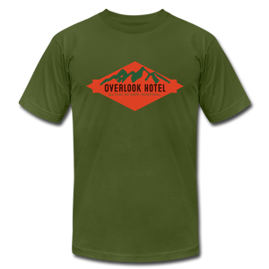 Overlook Hotel (The Shining inspired) T-Shirt - olive