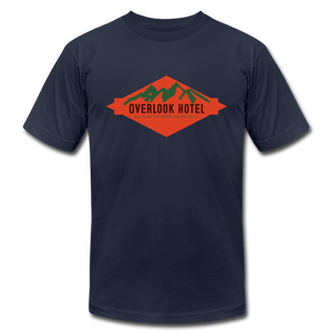 Overlook Hotel (The Shining inspired) T-Shirt - navy