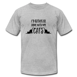 Home with my Cats T-Shirt - BravoPapa Clothing