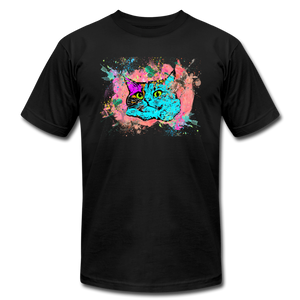 Too Much Catnip Trippy Cat T-Shirt - BravoPapa Clothing
