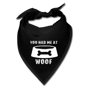 You Had Me At Woof Bandana Face Mask - BravoPapa Clothing