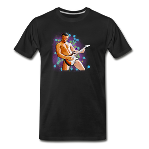 Naked Guitar Player Rocker T-Shirt - BravoPapa Clothing