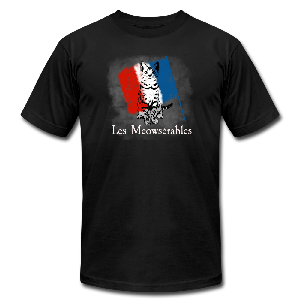 Les Meowserables Musical Parody Cat T-Shirt - BravoPapa Clothing