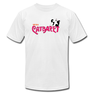 Catbaret (Cabaret Musical Parody) Cat T-Shirt - BravoPapa Clothing